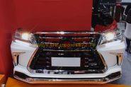 Аэродинамический обвес Lexus LX для Toyota Land Cruiser 200 2015 -