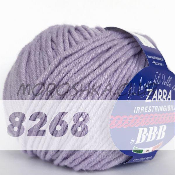 Сиреневый Zarra BBB (цвет 8268)