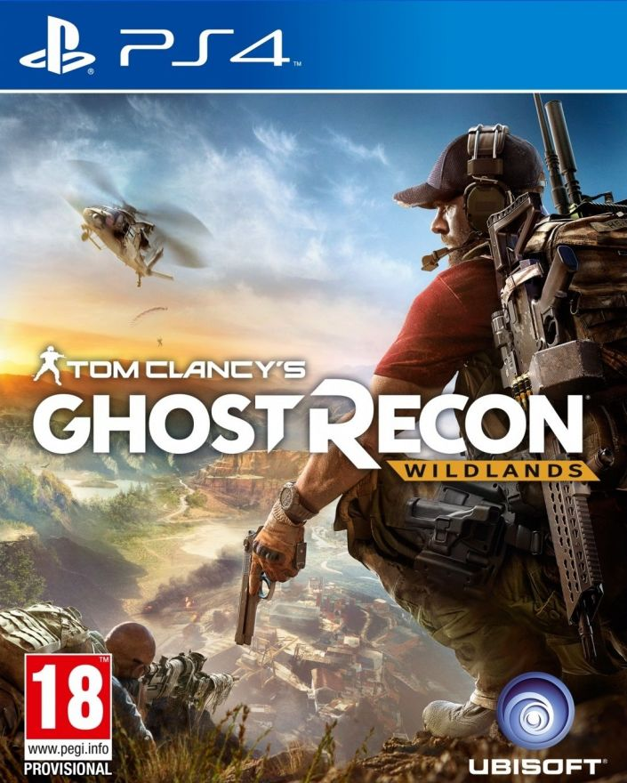 Игра Tom Clancy's Ghost Recon Wildlands.  (PS4, русская версия)