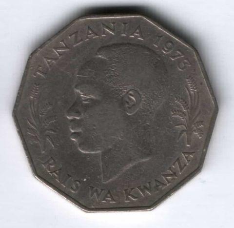 5 шиллингов 1973 г. Танзания