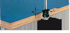 Фреза для снятия фаски/ пригонки с хвостовиком 8 мм HW S8 D24/0° +45°