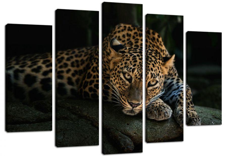Модульная картина Ягуар
