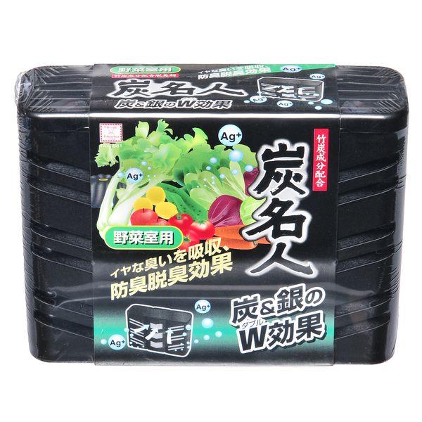 Дезодорант-поглотитель неприятных запахов для холодильника с древесным углем и ионами серебра KOKUBO в ассортименте