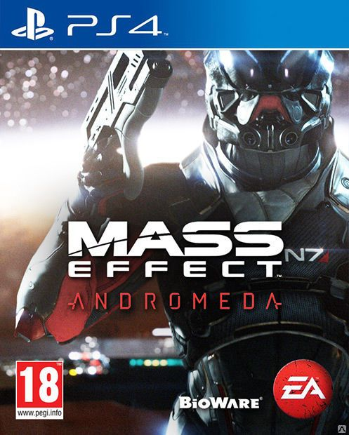 Игра Mass Effect: Andromeda (PS4)