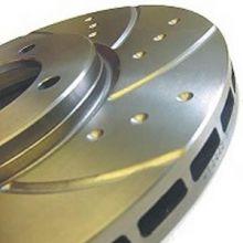 Тормозные диски EBC, серия TurboGroove, задние, V - 1.4 турбо