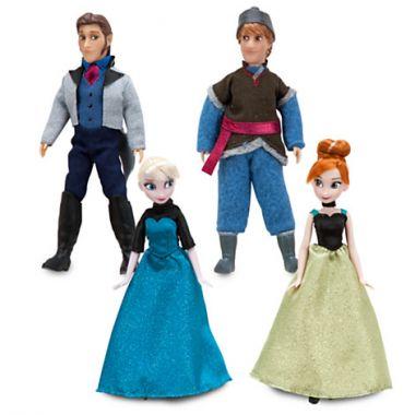 Набор мини кукол Холодное сердце Дисней