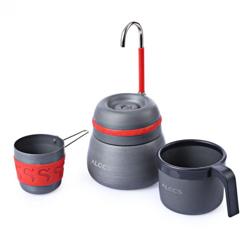 Туристическая кофеварка  ALOCS CW-EM01 350мл.