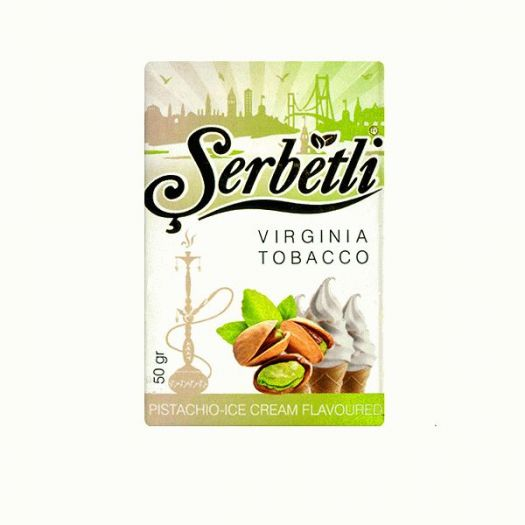 Serbetli Pistachio-Ice Cream (Фисташковое мороженое)