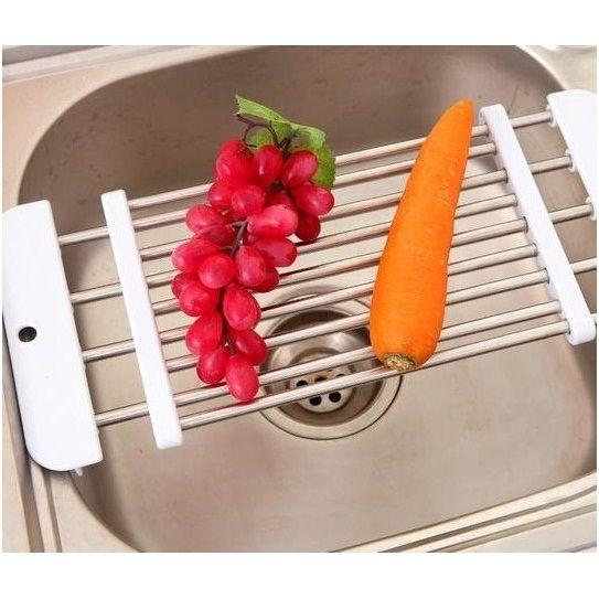 Раздвижная универсальная сушилка на раковину Sink Sliding Shelf
