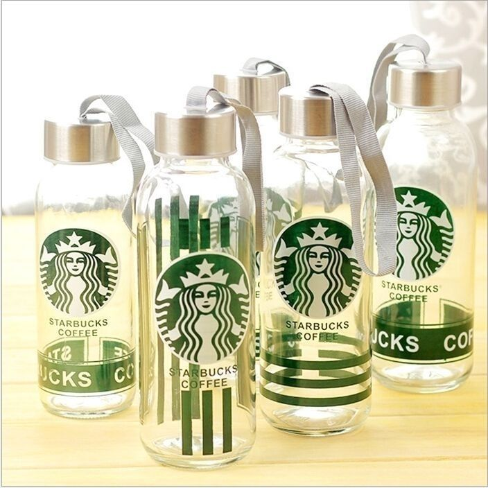 Стеклянная бутылка Starbucks Coffee, 300 мл