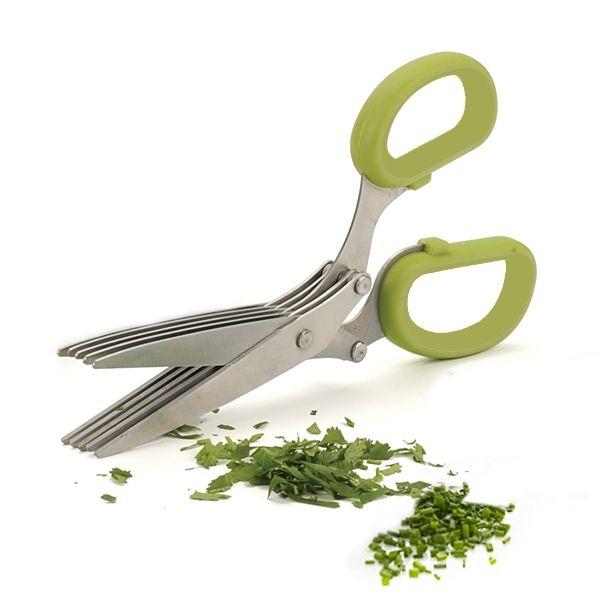 Ножницы для нарезки зелени 5 лезвий