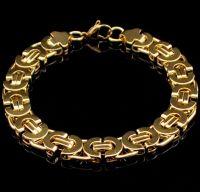 Мужской стальной браслет