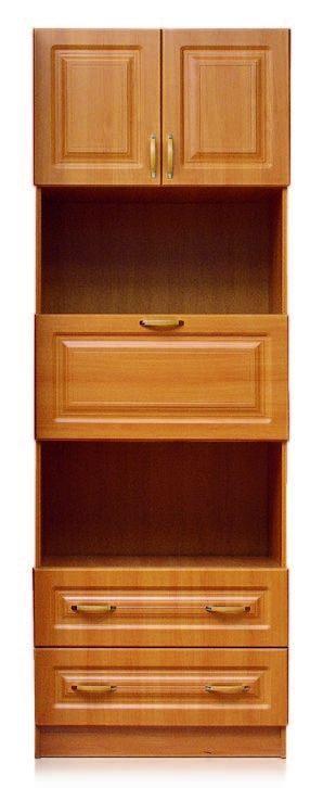 Шкаф. 2 двери, бар, 2 ящика. Шкаф Аливия  Модуль 7.