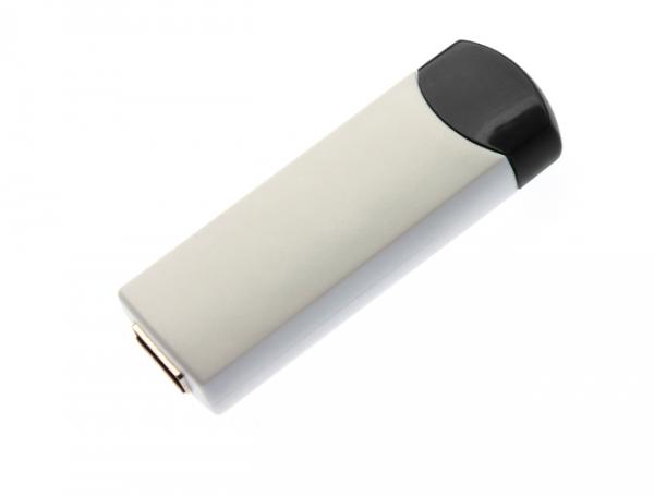 8GB USB-флэш корпус для флешки UsbSouvenir ROTATE-A, белая-черная
