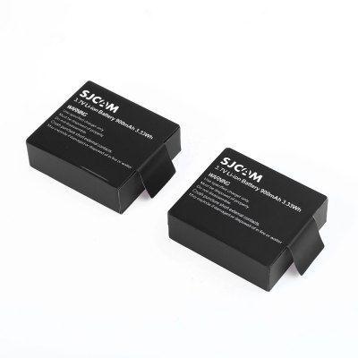 Комплект SJCAM  2 Акумулятора 900 mAh   для экшн камер