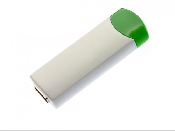 16GB USB-флэш корпус для флешки UsbSouvenir ROTATE-A, белая-зеленая