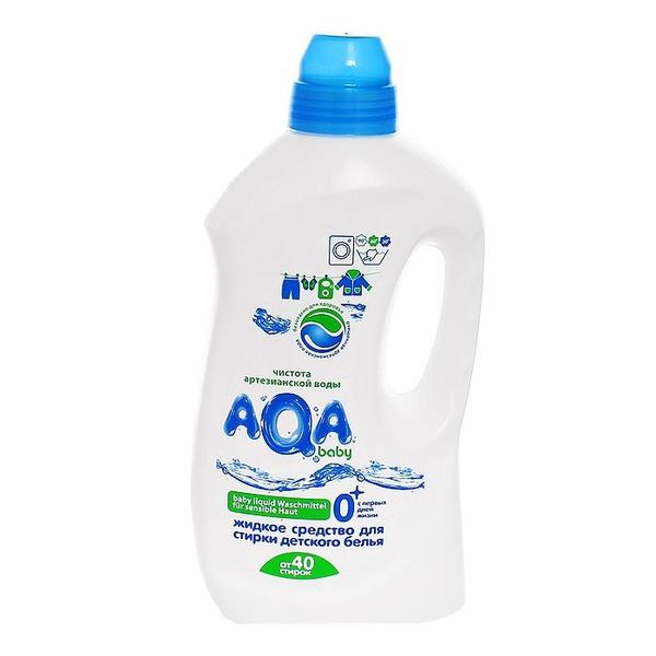AQA baby Жидкое средство для стирки детского белья, 1500 мл.