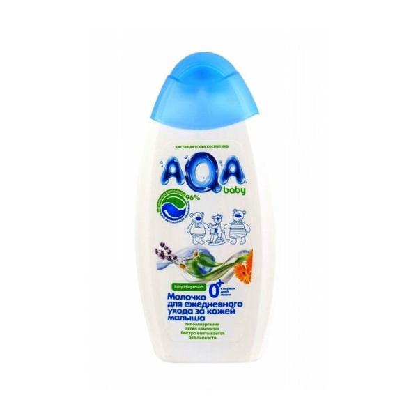 AQA baby Молочко для ежедневного ухода за кожей малыша , 250 мл.