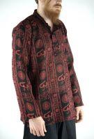 Чёрные мужские индийские рубашки, хлопок, интернет-магазин Москва