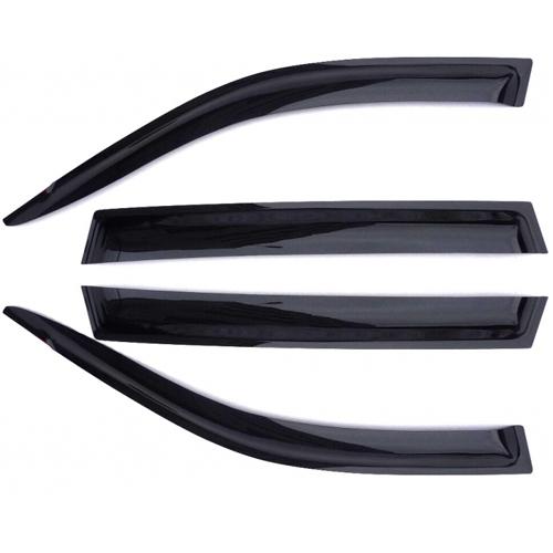 Дефлекторы на боковые стекла AZARD CHEVROLET NIVA /НАКЛАДНЫЕ/ скотч /к-т 4 шт./