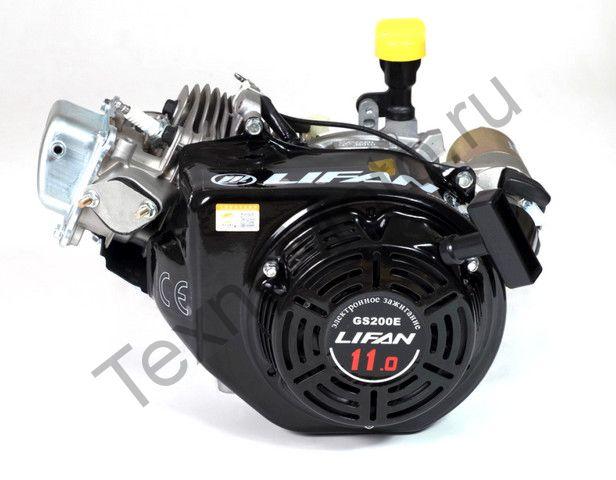 Двигатель Lifan GS200E D20 (11 л. с.) с катушкой освещения 7Ампер (84Вт)