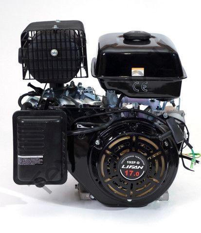 Двигатель Lifan 192FD D25 (17 л. с.) с катушкой освещения 18Ампер (216Вт)
