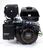 Lifan 192FD-2 D25 (18,5 л. с.) с катушкой освещения 7Ампер (84Вт) четырехтактный бензиновый двигатель объемом 459 куб. см., мощность 18,5 л. с., и диаметром выходного вала 25 мм.  Комплектуется ручным и электрическим стартом.