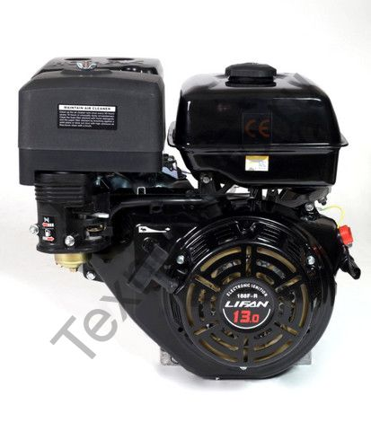 Двигатель Lifan 190FD-R D22 (15 л. с.) с редуктором и катушкой освещения 7Ампер (84Вт)