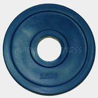 "Олимпийский диск евро-классик,--серия ""Ромашка"" 2.5 кг."