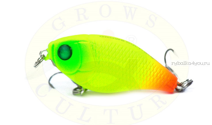 Воблер Grows Culture Chubby 38F 38мм/ 4 гр/заглубление: 0,6-1м/ цвет:Q9