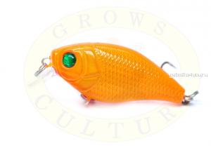 Воблер Grows Culture Chubby 38F 38мм/ 4 гр/заглубление: 0,6-1м/ цвет:Q21