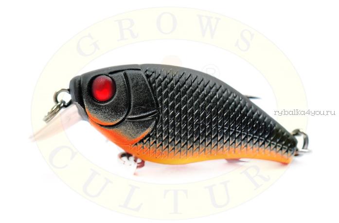 Купить Воблер Grows Culture Chubby 38F 38мм/ 4 гр/заглубление: 0,6-1м/ цвет:R41