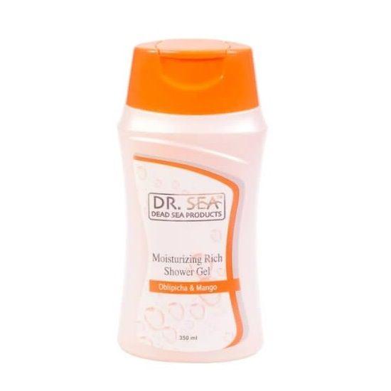Увлажняющий питательный крем-гель для душа с маслами облепихи и манго Dr.Sea (Доктор Си) 350 мл