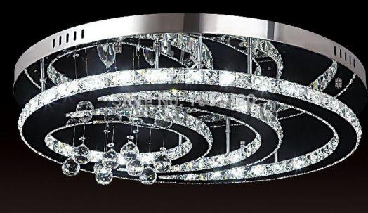 Хрустальная светодиодная люстра 90Вт DW-8705