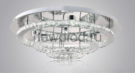 Хрустальная светодиодная люстра 110Вт DW-8702