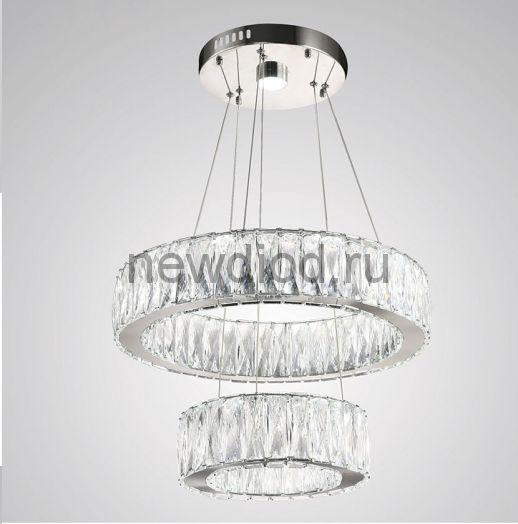Хрустальная светодиодная люстра 80Вт DW-8818