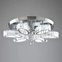 Хрустальная светодиодная люстра 90Вт DW-8787