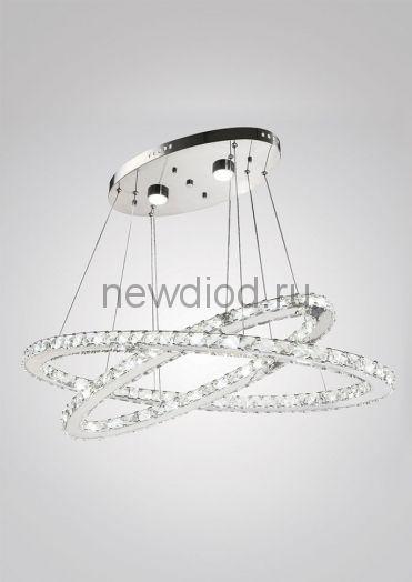 Хрустальная светодиодная люстра 80Вт DW-8729