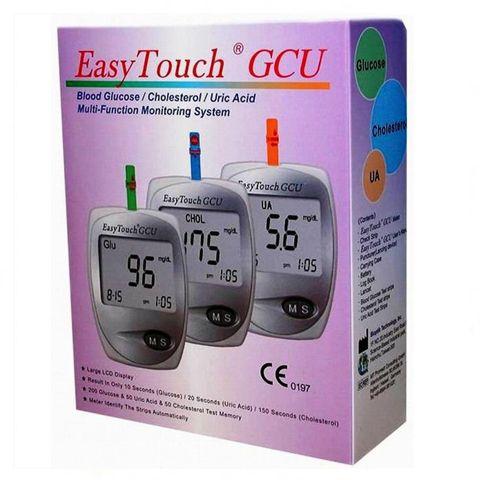 Анализатор EasyTouch GCU 3 в 1 - глюкоза, холестирин, мочевая кислота