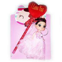 Набор с ручкой детский брелок-кукла