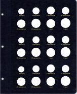 Лист для монет Евро наборов [P0035-P1]