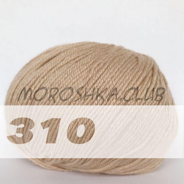 Светло-бежевый Baby wool Alize (цвет 310)