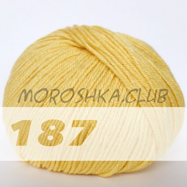 Лимонный Baby wool Alize (цвет 187)