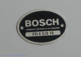 Табличка Bosch овальная большая