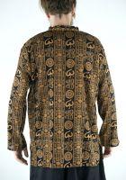 Лёгкая летняя индийская рубашка, купить в интернет магазине