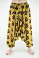 Мужские хлопковые штаны алладины с индийскими слонами, интернет магазин