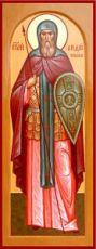 Андрей Ослябя (Радонежский) (мерная икона)