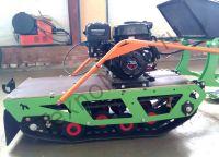 Лыжный модуль для мотобуксировщика БТС
