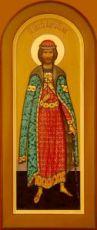 Андрей Боголюбский (мерная икона)