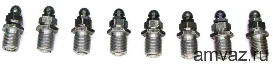 Болт регулировки клапана «солдатик»  2101 н/о (к-т. 8 шт.)